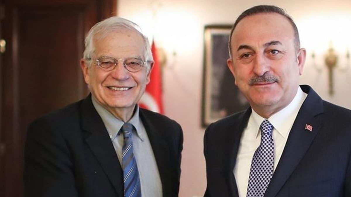Bakan Çavuşoğlu ile AB Komisyon Başkan Yardımcısı ile görüştü