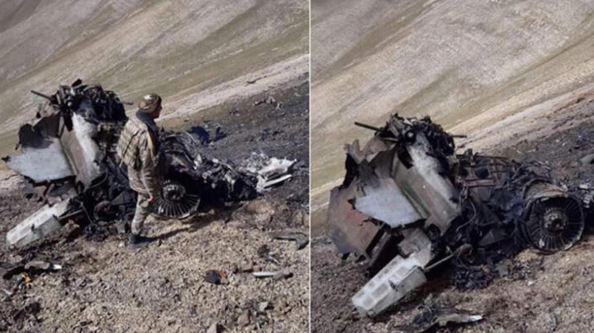 Azerbaycan duyurdu: Ermenistan'a ait 2 adet SU-25 uçağı dağa çarptı