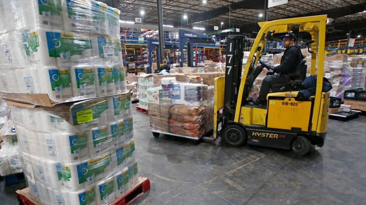 ABD'de marketler ve gıda şirketleri ikinci bir koronavirüs dalgasına karşı stok yapmaya başladı
