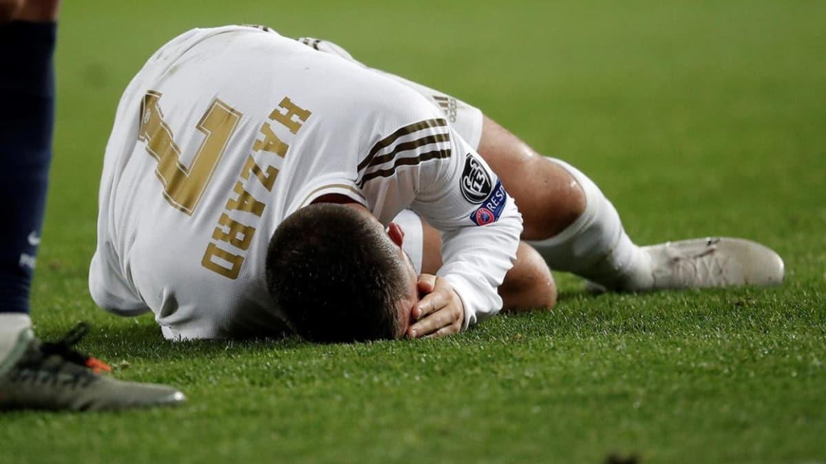 Eden Hazard yine sakatlandı, 4 hafta yok!