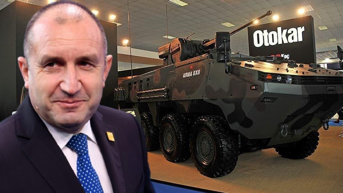 Bulgaristan Cumhurbaşkanı'ndan savunma sanayi fuarı yorumu: Türkiye'nin katılımı muhteşem