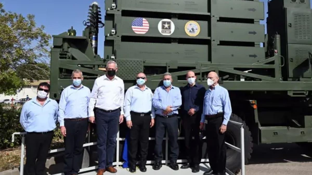 """İsrail, ABD ordusuna sattığı """"Demir Kubbe"""" bataryasının ilkini teslim etti"""