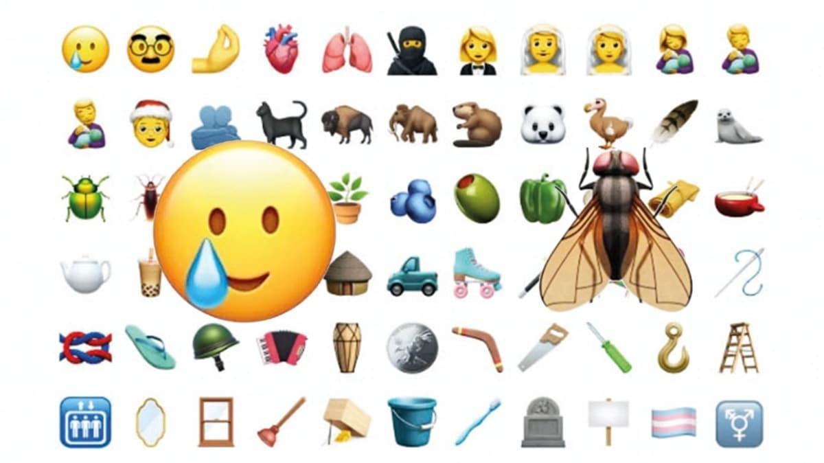 Apple'ın yeni beta sürümüne yeni emojiler!