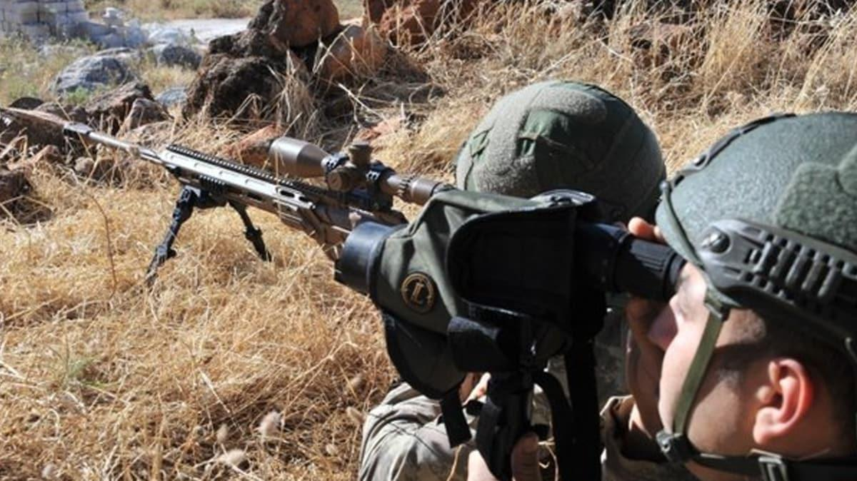 Barış Pınarı bölgesinde 2 terörist etkisiz hale getirildi