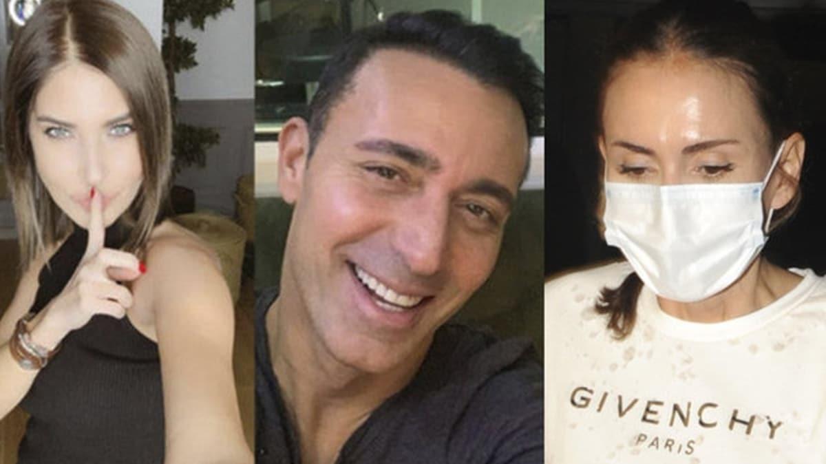 Emina Jahovic'e eski eşi Mustafa Sandal'la Melis Sütşurup'un barışması soruldu