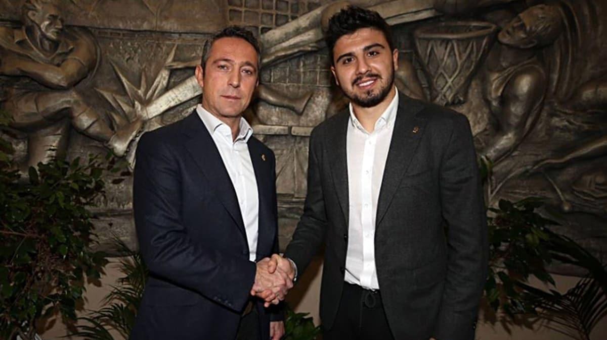 Ozan Tufan'dan Ali Koç'a şampiyonluk sözü