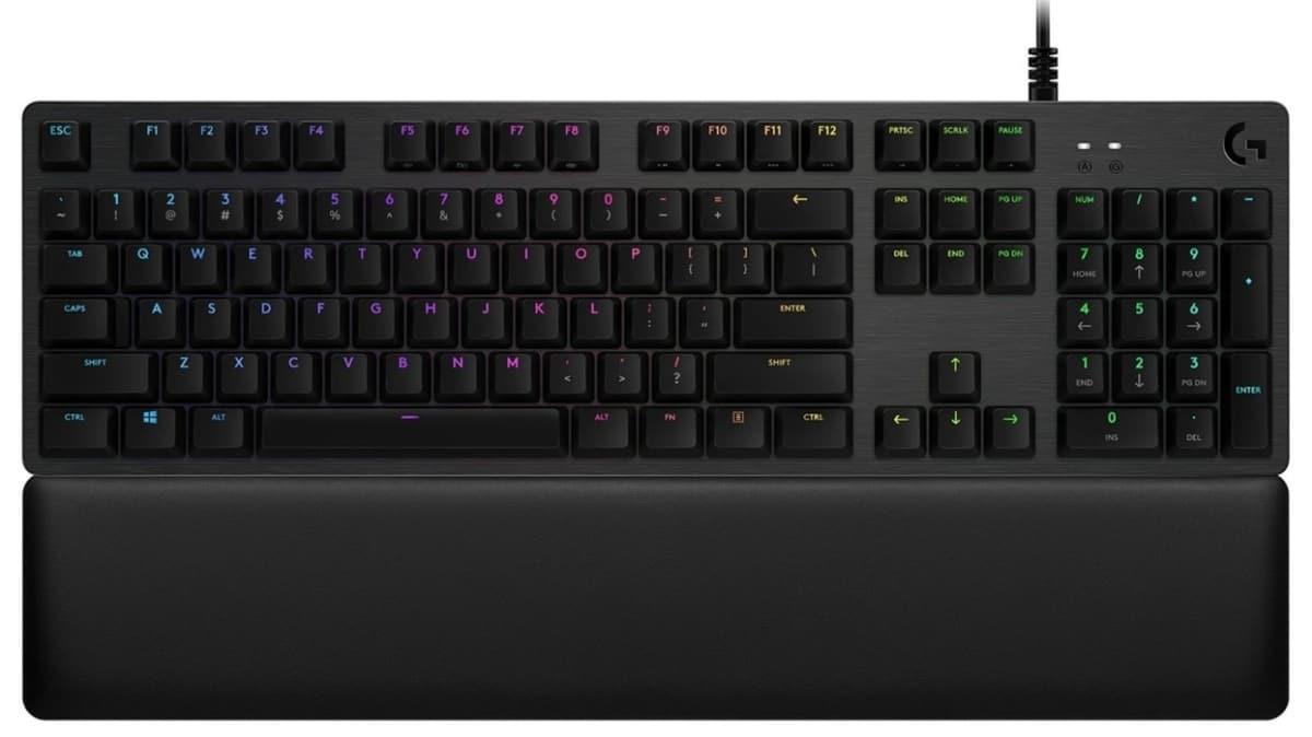 Üst düzey oyuncu klavyesi: Logitech G513 Carbon (GX Blue)