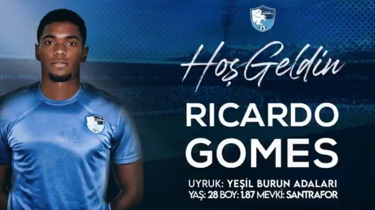 BB Erzurumspor forvet Ricardo Gomes'i kiraladı