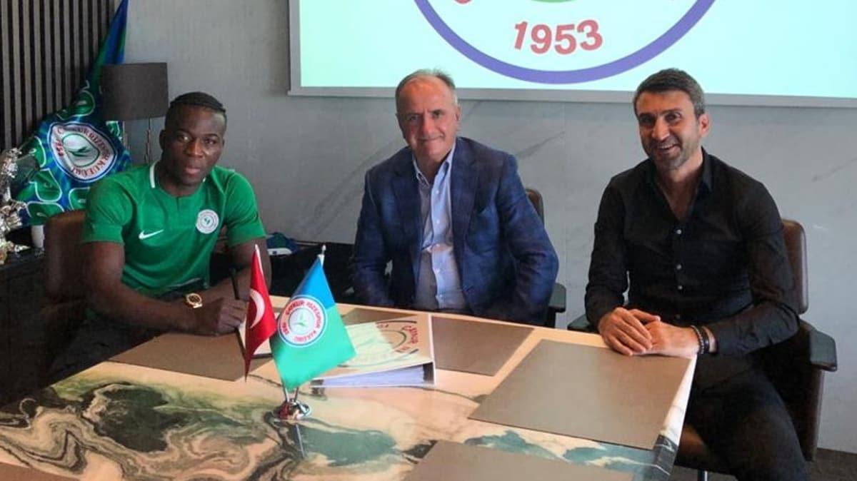 Çaykur Rizespor, Godfred Donsah'ı sezon sonuna kadar kiraladı