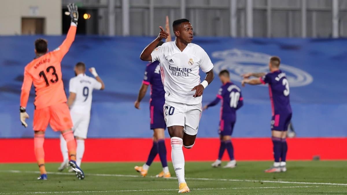 Real Madrid, Real Valladolid'i tek golle geçti