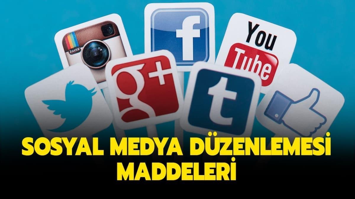 """Sosyal medya yasası nedir"""" Yeni sosyal medya düzenlemesi maddeleri neleri kapsıyor"""""""