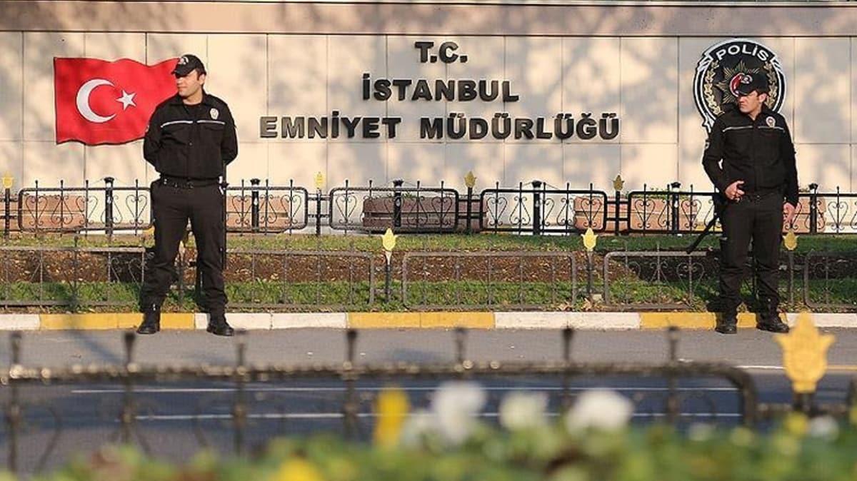 İstanbul Emniyetinde görev değişiklikleri