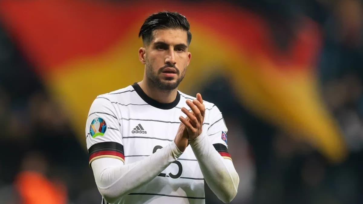 Almanya'nın milli takımımızla karşılaşacağı maçın aday kadrosu açıklandı