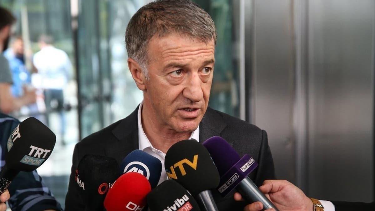 Trabzonspor'da Başkan Ağaoğlu TFF Başkanı ile görüşecek