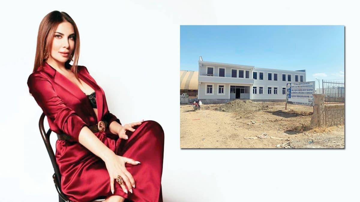 Ebru Yaşar'dan Bismil'e 12 derslikli okul