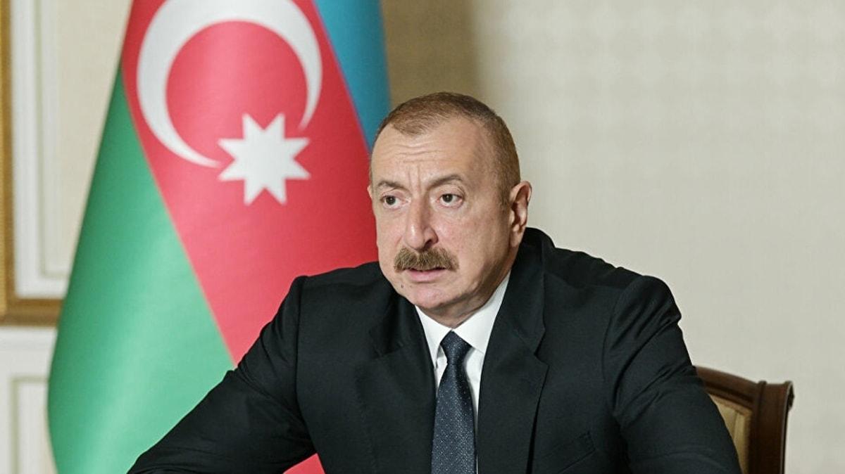 Azerbaycan Cumhurbaşkanı Aliyev: Adaletine güvendiğimiz ülkeler barışın garantörleri olacak