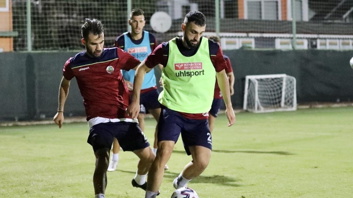 Lider Alanyaspor'da Galatasaray maçının hazırlıkları başladı