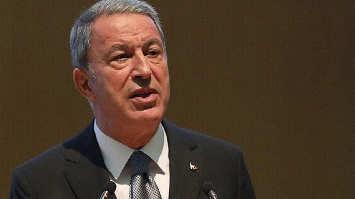 Bakan Akar açıkladı: Türkiye ve Yunanistan askeri heyetleri ilk toplantısı NATO Karargahı'nda gerçekleşti