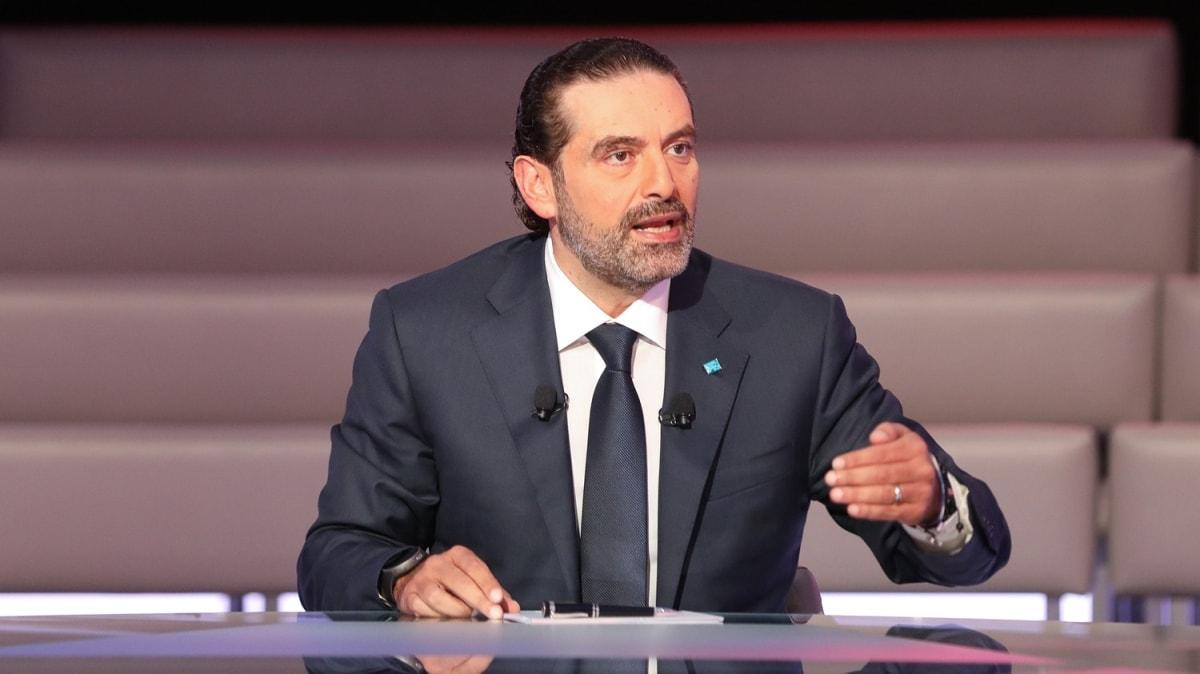 Eski Lübnan Başbakanı Hariri'den uyarı: Ülke iç savaşa sürüklenme tehdidiyle karşı karşıya
