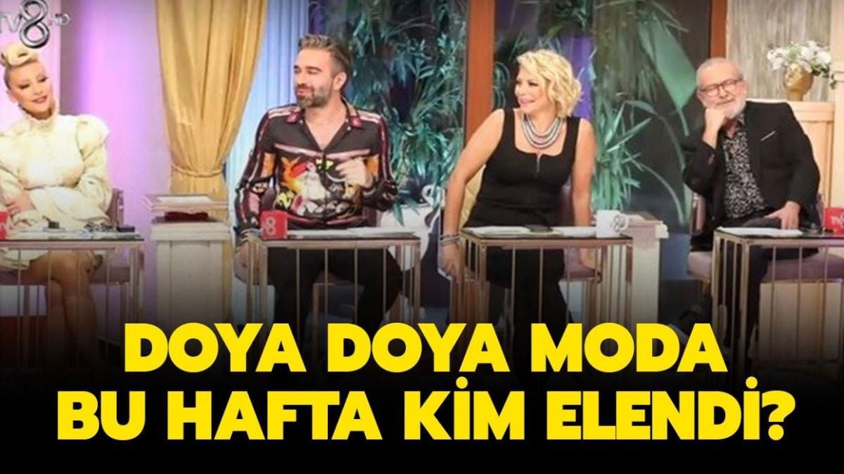 """9 Ekim Doya Doya Moda kim elendi"""" Doya Doya Moda hafta birincisi kim oldu"""""""