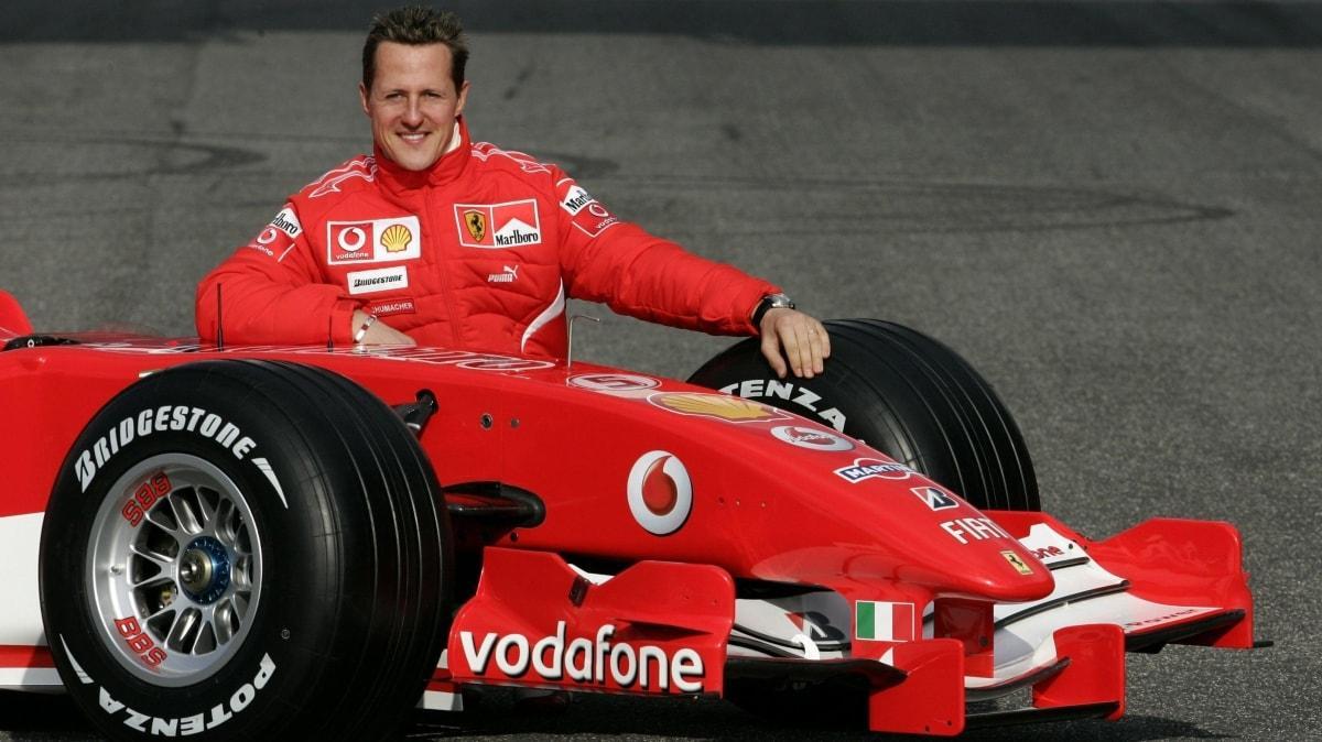 Michael Schumacher için olay sözler
