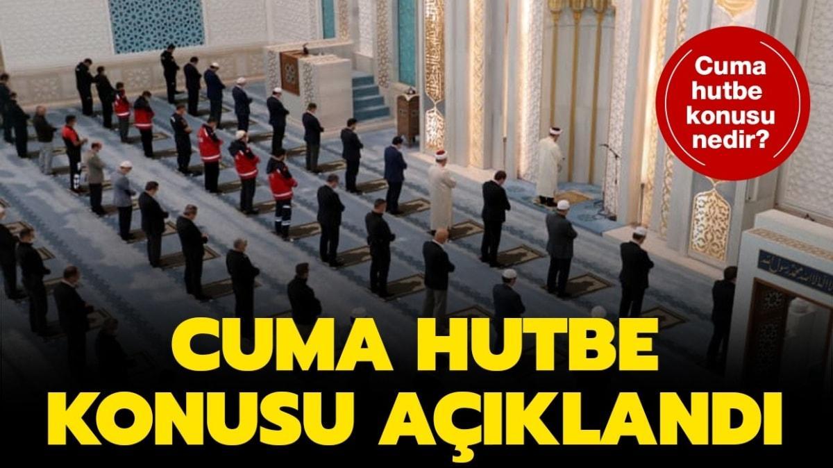 """9 Ekim Cuma hutbesi konusu nedir"""" Cuma hutbesi Diyanet tarafından yayınlandı!"""