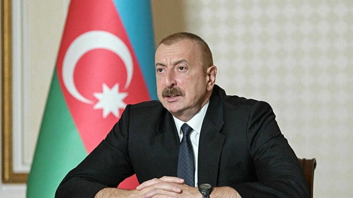 Aliyev'den işgalci Ermenistan'a uyarı: Çıkın bizim topraklarımızdan