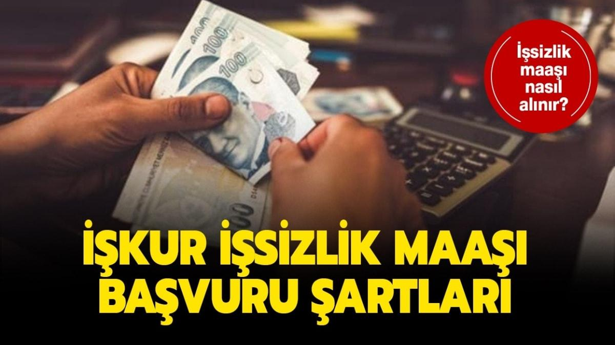 """İŞKUR işsizlik maaşı başvuru ekranı! İşsizlik maaşı kaç ay alınır, şartları nelerdir"""""""