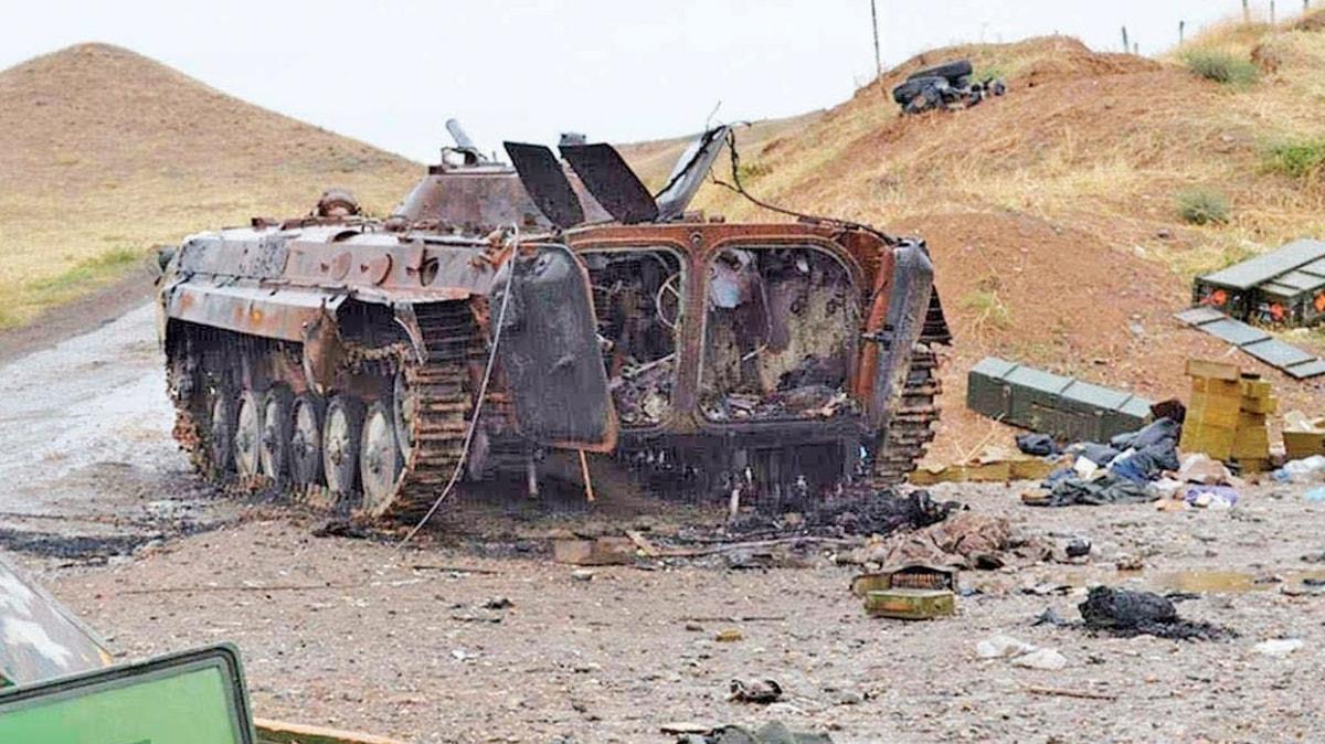 Ermenistan ordusu bozguna uğratıldı