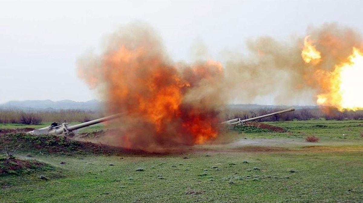 Ateşkese rağmen saldırdı... İşgalci Ermenistan ordusu püskürtüldü!