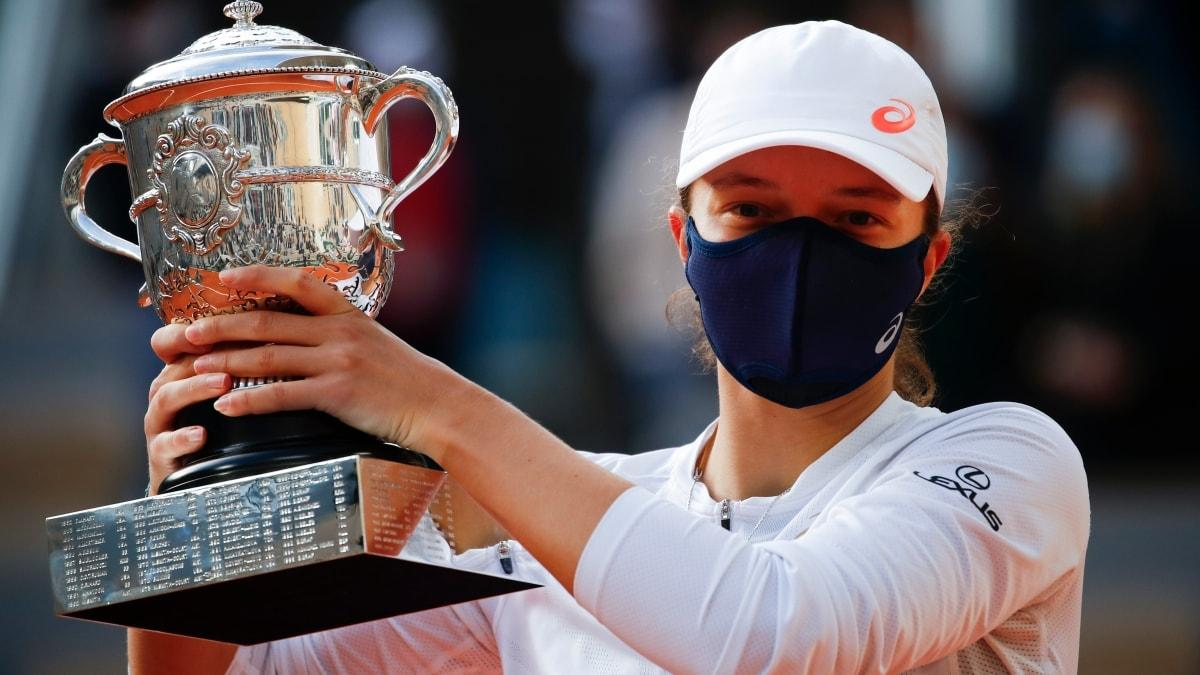 Roland Garros tek kadınlarda şampiyon Iga Swiatek