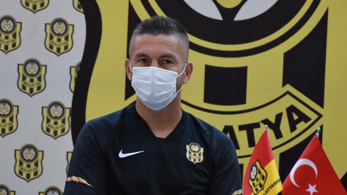 Adem Büyük: Galatasaray'dan Yeni Malatyaspor'a geldiğim için mutluyum