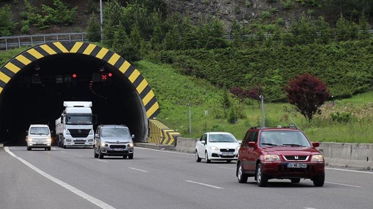 Bolu Dağı Tüneli Ankara kesimi 12 Ekim'den itibaren ulaşıma kapanacak