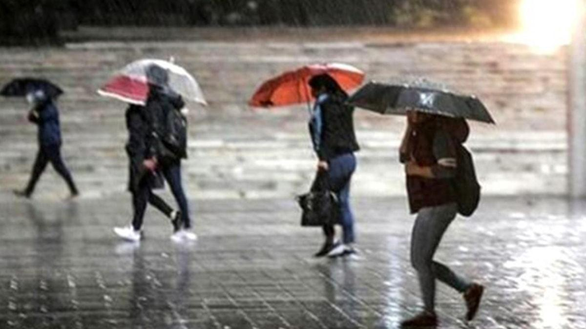 Meteoroloji, Marmara'yı uyardı: Gök gürültülü sağanak geliyor