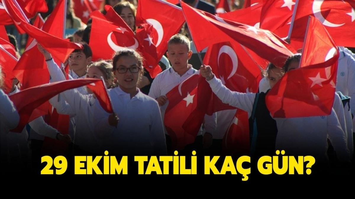 "29 Ekim Cumhuriyet Bayramı hangi gün"""