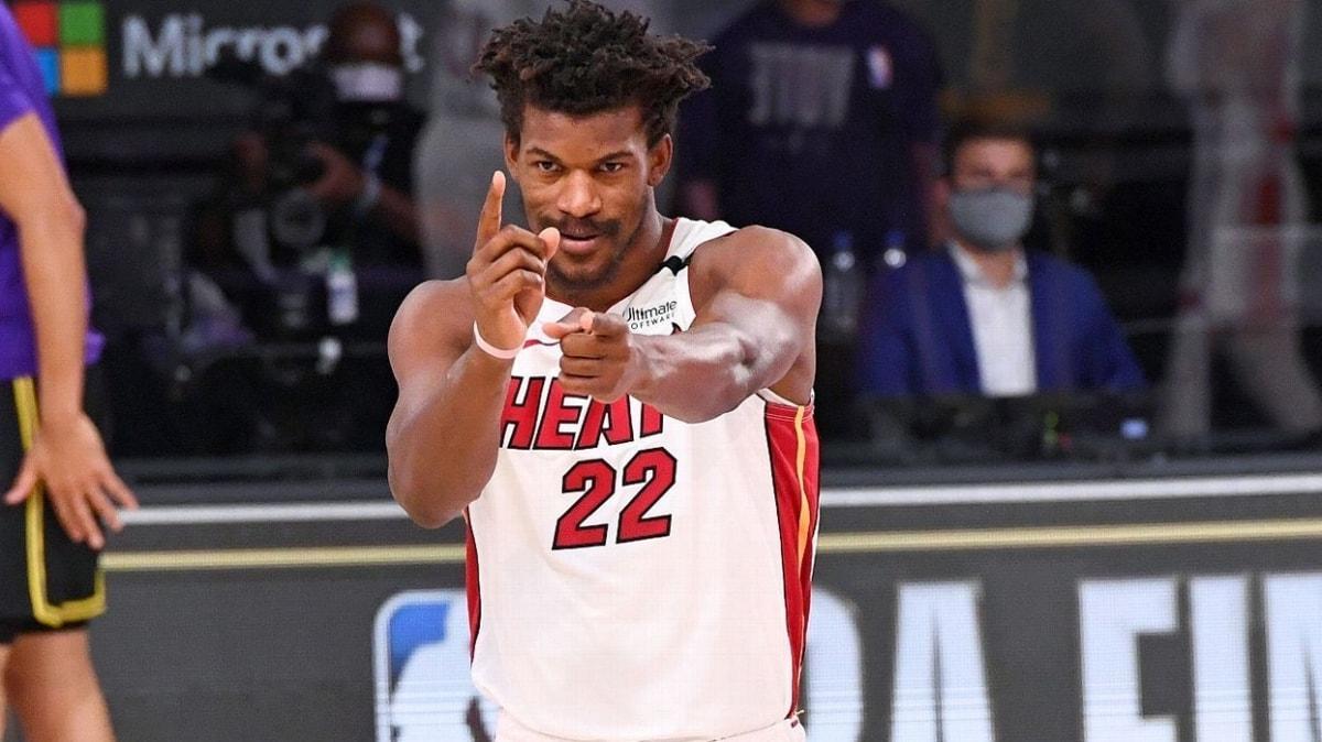 Los Angeles Lakers'ın şampiyonluğuna Jimmy Butler 'dur' dedi: 3-2