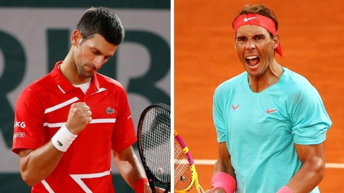 Rafael Nadal ve Novak Djokovic, Roland Garros finaline rekor için çıkıyor