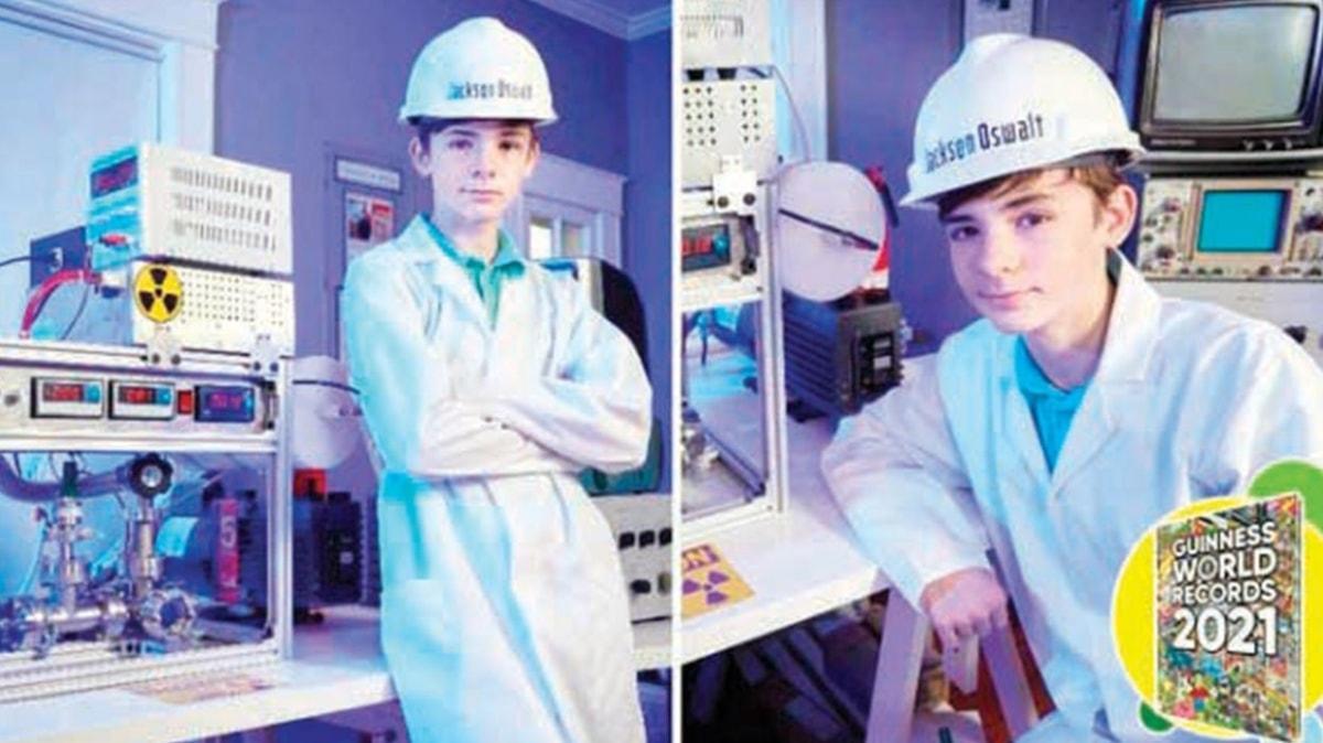 Daha 13 yaşında! Nükleer füzyon reaktörü geliştiren genç Guinness'te