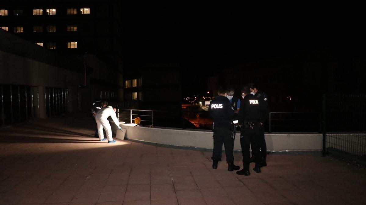Hastaneden kaçmak istedi... Balkondan düşen Kovid-19 hastası ağır yaralandı!