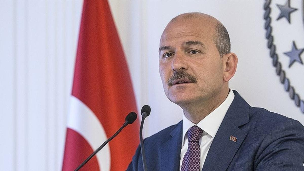 """İçişleri Bakanı Soylu'dan """"tarikat yapılanması"""" iddialarına ilişkin açıklama"""