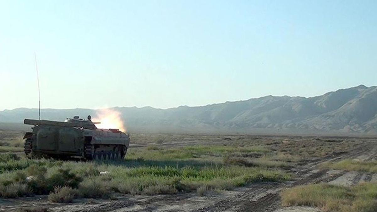 Azerbaycan ile işgalci Ermenistan arasındaki ateşkes başladı