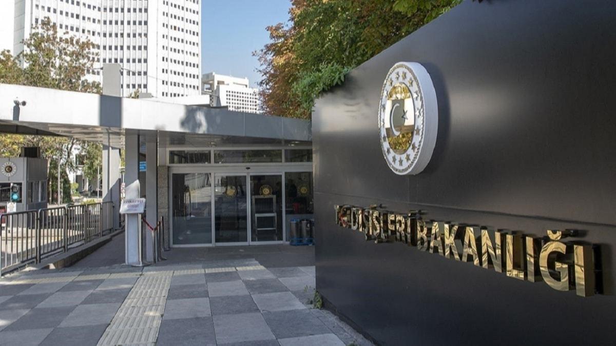 Dışişleri Bakanlığından Yunanistan'a tepki: Beyanları asılsızdır