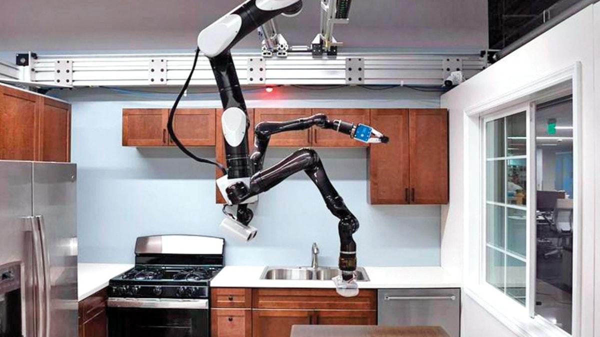 Ceiling-Assistant adlı yaşlılara yardımcı robot  tanıtıldı