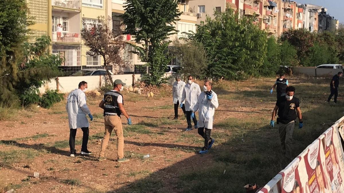 Mersin'de boş arsada patlama: 1 yaralı