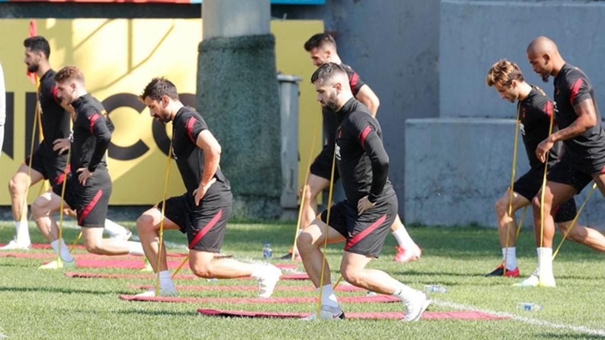 Galatasaray'da Belhanda antrenmanda yer almadı