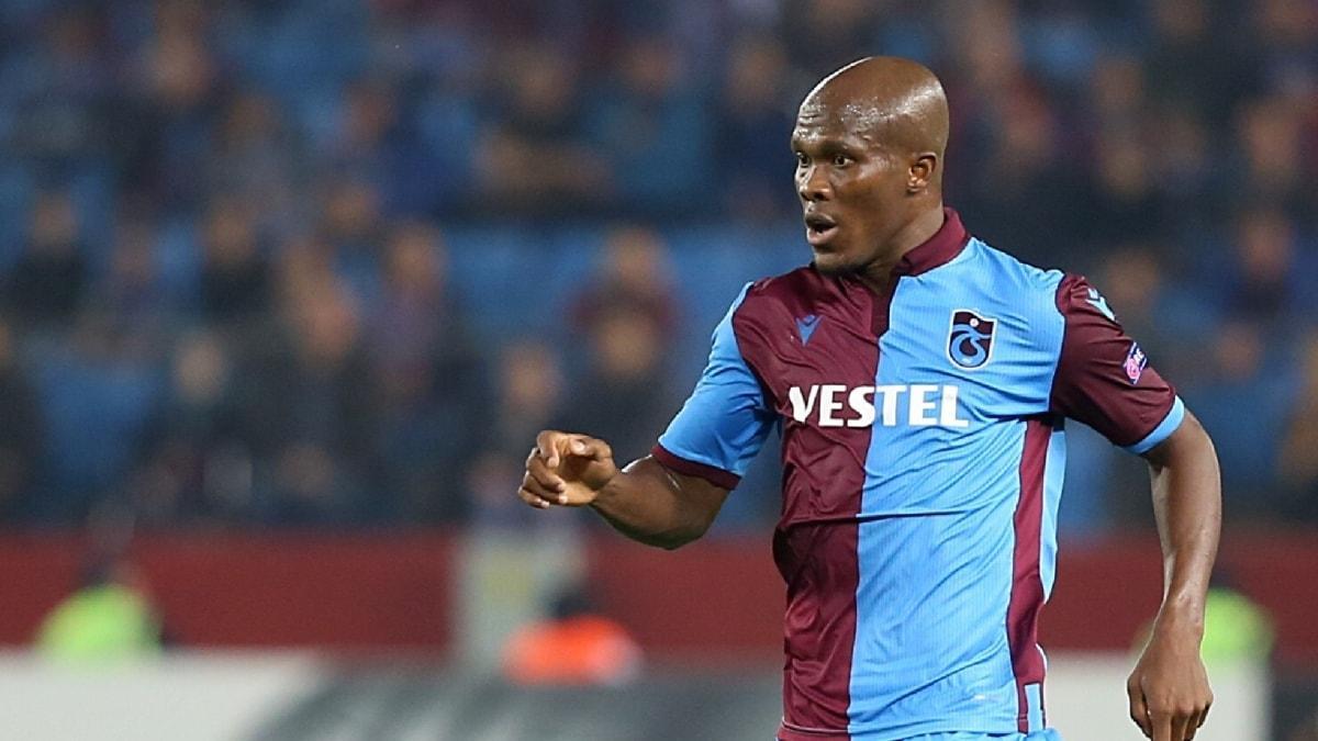 Trabzonspor'da Nwakaeme'ye verilen izin sona erdi