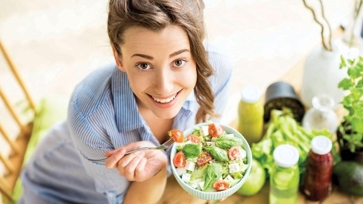 Vejetaryen diyetler kalbi koruyor