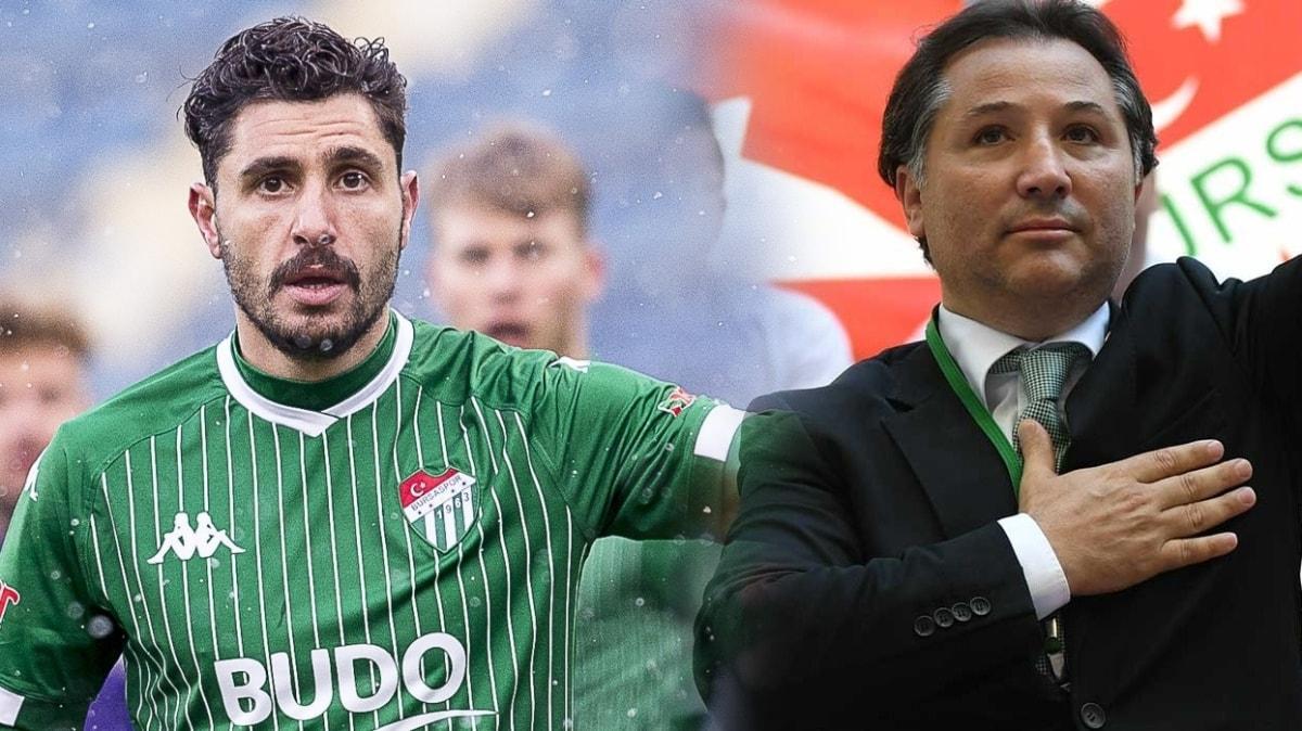 Özer Hurmacı'yla Eski Bursaspor Başkanı Mesut Mestan arasında kavga
