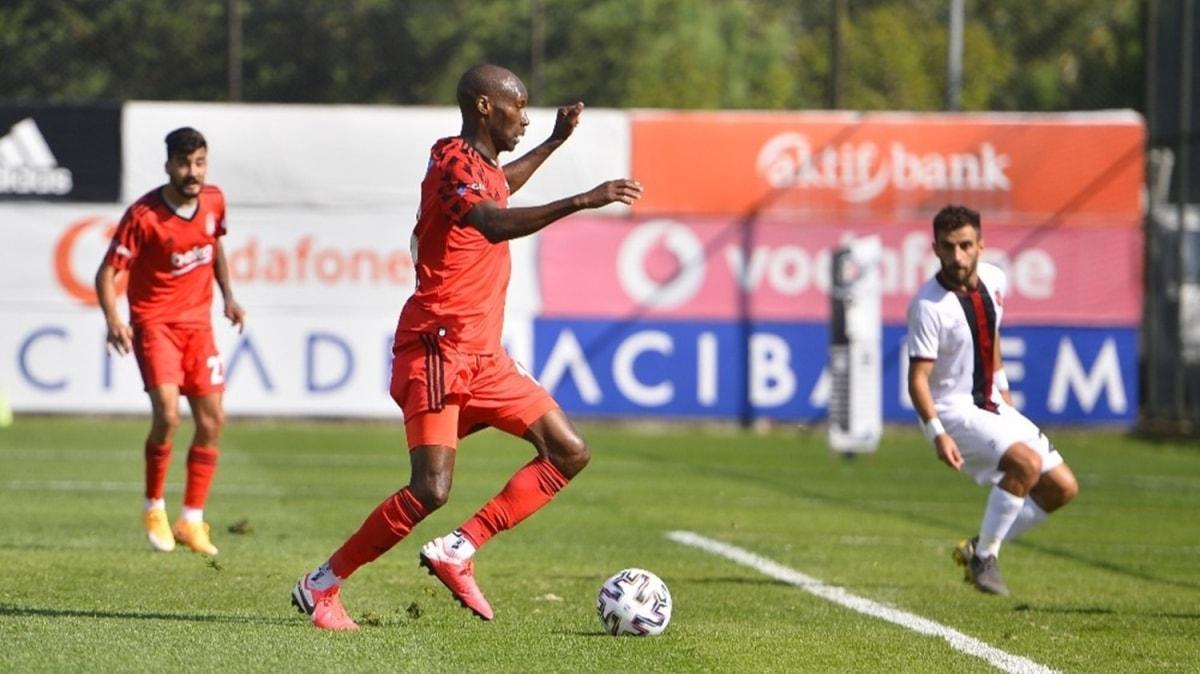 Beşiktaş'tan hazırlık maçında 5 gollü galibiyet