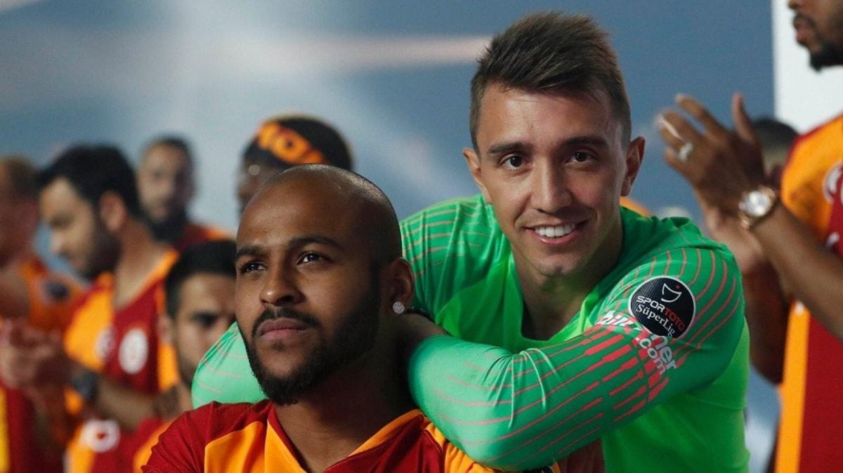 Galatasaray devre arasında Fernando Muslera ve Marcao ile yeni sözleşme imzalıyor